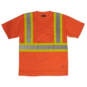 Work King® Short Sleeve Safety T-Shirt w/Pocket